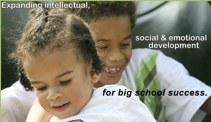 Expanding Intellectual, social and emotional development for big school success.