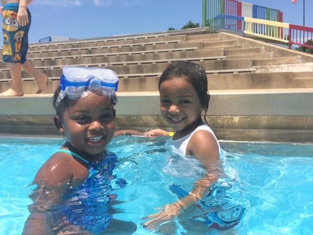 Renaissance Schools summer camp program at the swimming pool